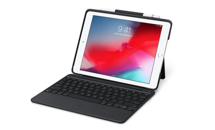 苹果上架罗技 Slim Combo iPad(5/6代)保护壳:搭载