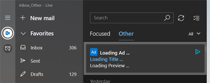 Win10邮件和日历应用出现广告,微软删除所有相关