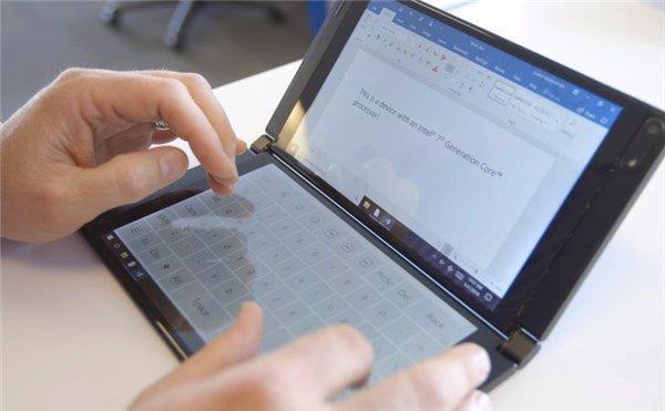 微软Surface仙女座可折叠设备新料曝光:或有笔记