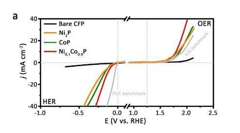 我国学者研制出高性能低成本的新型三元纳米片电催化剂