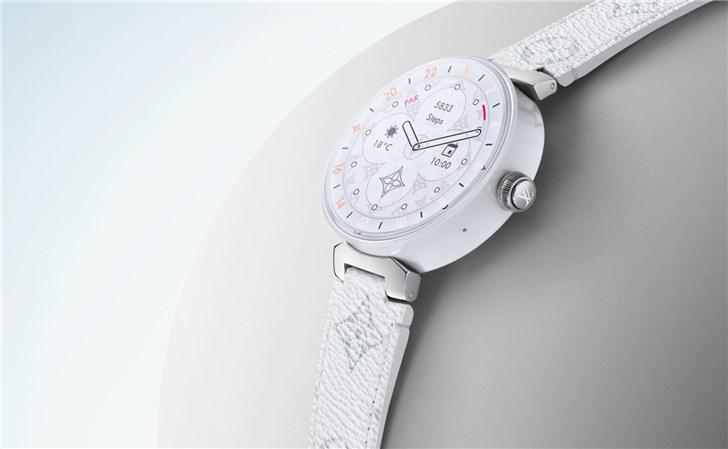 LV推新款智能手表 搭载WearOS系统