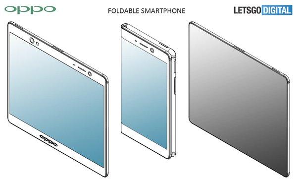 OPPO申请可折叠手机专利 为可折叠智能手机申请了多项专利