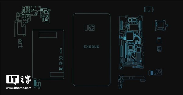 HTC正式公布Exodus:号称全球首款区块链手机,Q3公测