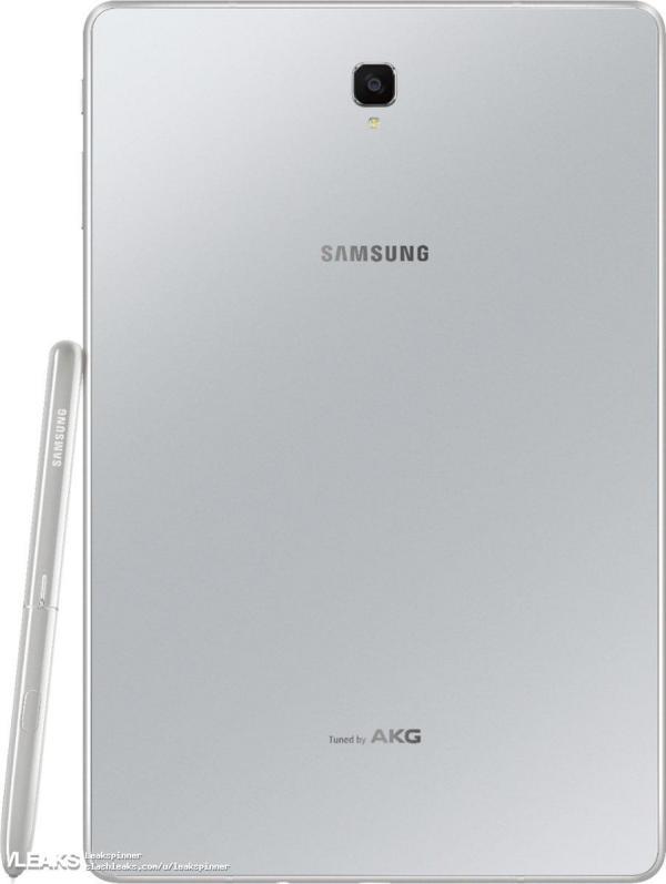 三星Galaxy Tab S4外观再曝,S Pen手写笔更粗大
