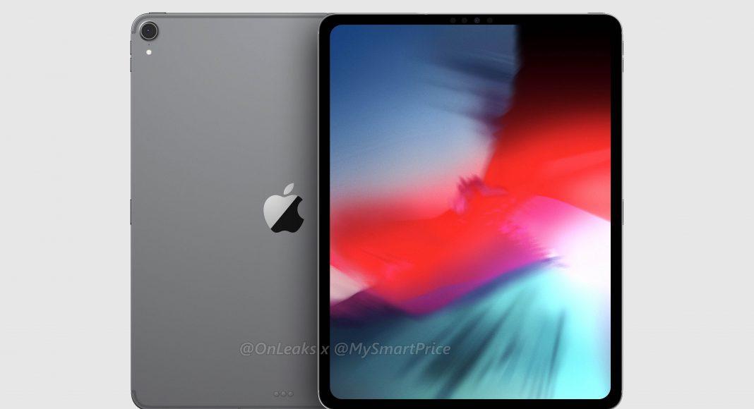 苹果新12.9英寸iPad Pro渲染图现身:没有刘海,也