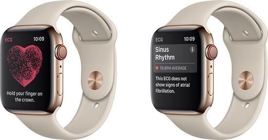 Apple Watch 4 蜂窝网络44毫米版京东秒杀好价:425