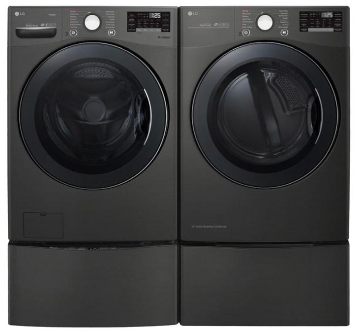 LG将在CES 2019上展示新洗衣机:洗烘一体,带WIF