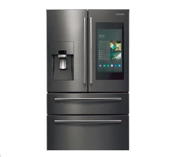 三星发布新款智能冰箱 能提醒是否忘记关冰箱门