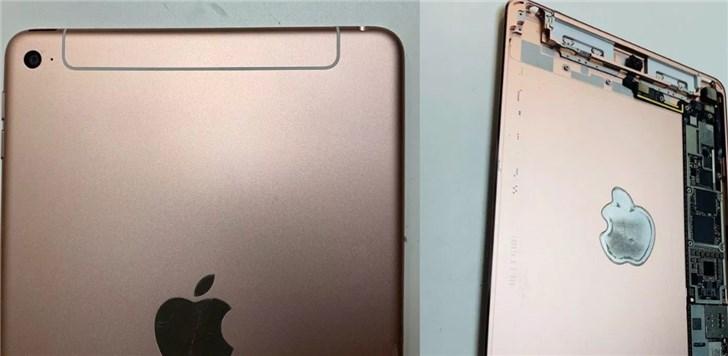 疑似苹果iPad mini 5后壳曝光 天线有明显变化