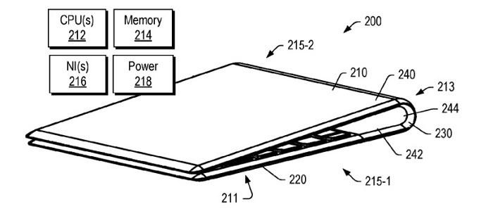 联想柔性折叠屏Windows 10设备专利曝光
