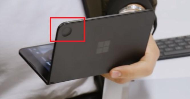 微软Surface Duo黑色版曝光!搭载特殊巨型后置摄像