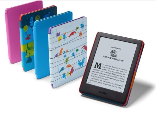 亚马逊推出儿童版Kindle:110美元,仅为儿童阅读而设计