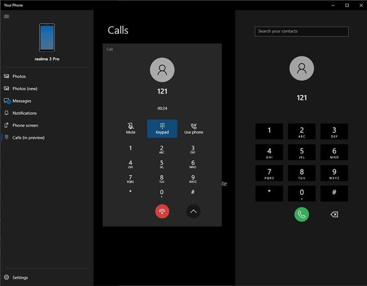 微软发布Windows 10 18999(20H1)快速预览版 PC可拨打电话
