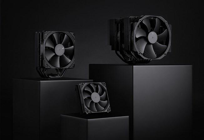 猫头鹰推出三款经典造型CPU散热器 全黑配色