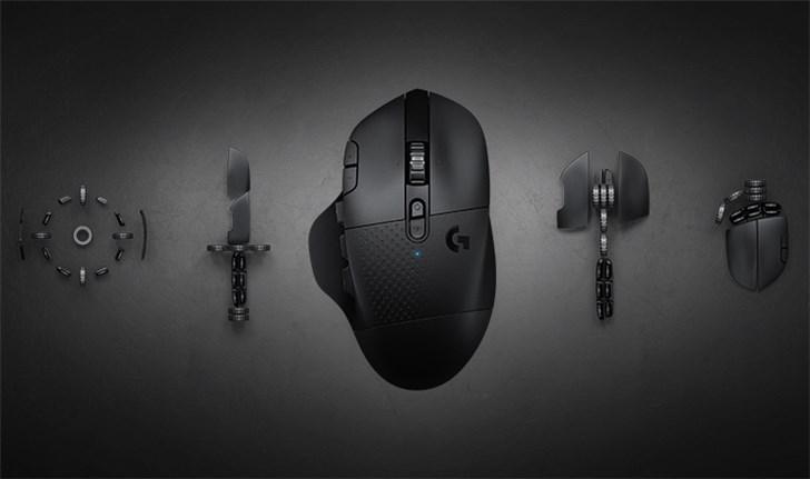 罗技新款无线鼠标G604上架:续航长达5.5个月,