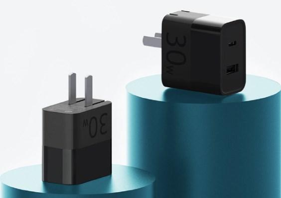 紫米 US*充电器30W 快充版上架:59元,支持iPhone