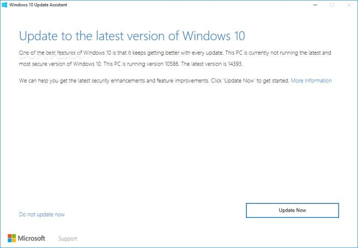 微软Windows 10更新助手存漏洞 使攻击者执行具有SYSTEM特权代码
