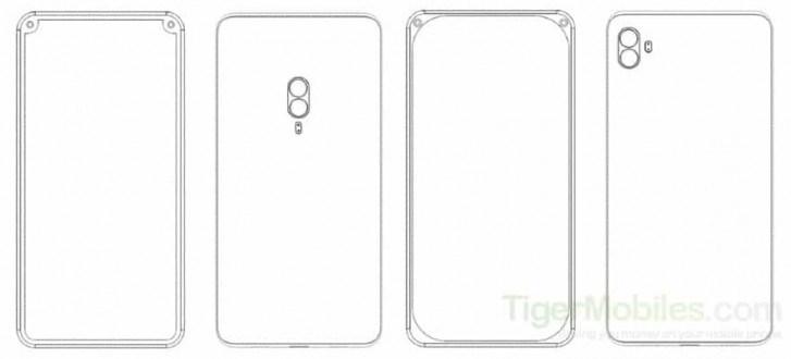 小米全新手机专利曝光:前置双摄位于设备边框