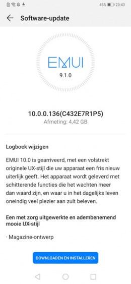 华为Mate 20 Pro开升安卓10 荷兰地区用户已收到系统更新
