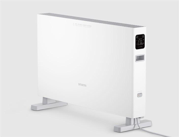 智米电暖器智能版1S发布:大屏触控,16-28℃精准