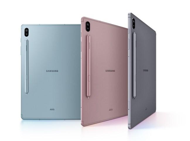 三星Galaxy Tab S6平板正式开售:采用S Pen触控笔 5099元起