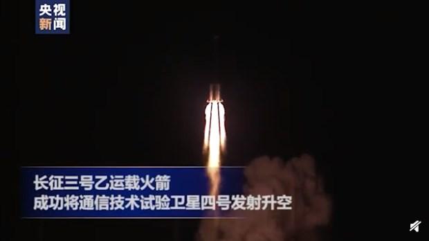 中国成功发射通信技术试验卫星四号,测试高速