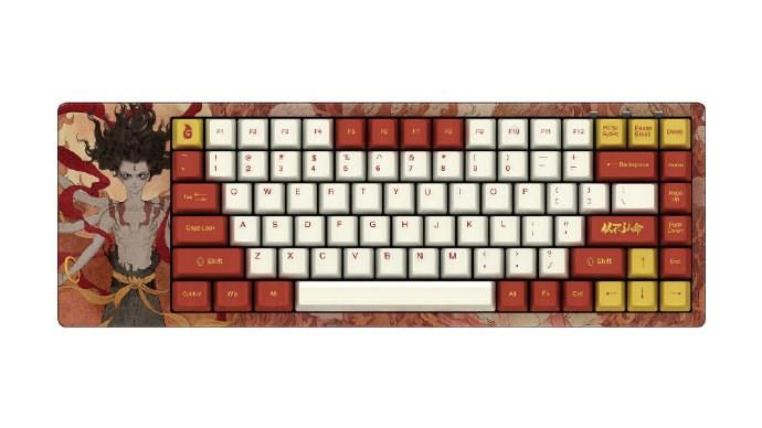 Akko将推出《哪吒之魔童降世》主题机械键盘