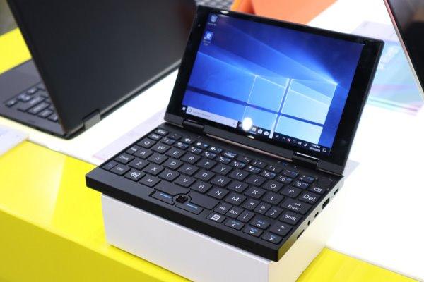 深圳厂商推7英寸迷你Windows 10变形笔记本电脑