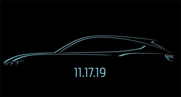 福特野马电动SUV更多细节揭晓:一次充电即可595公里续航