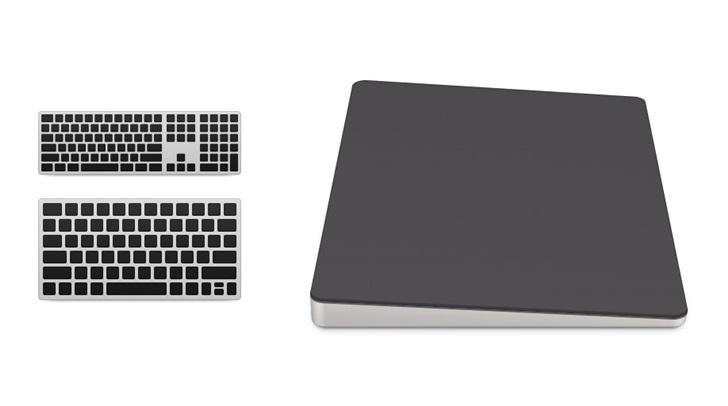 配件也玩混搭:苹果新Mac Pro将增加新配色版妙控