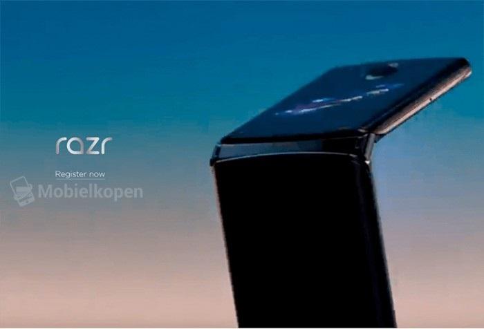 摩托罗拉RAZR可折叠手机最新渲染图曝光 铰链设计成亮点