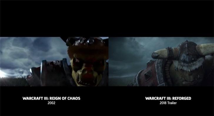 《魔兽争霸3:重制版》过场CG与原版对比:CG大厂不负众望