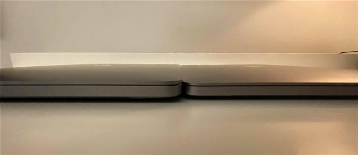 苹果16英寸与15英寸Mac*ook Pro外观和细节对比