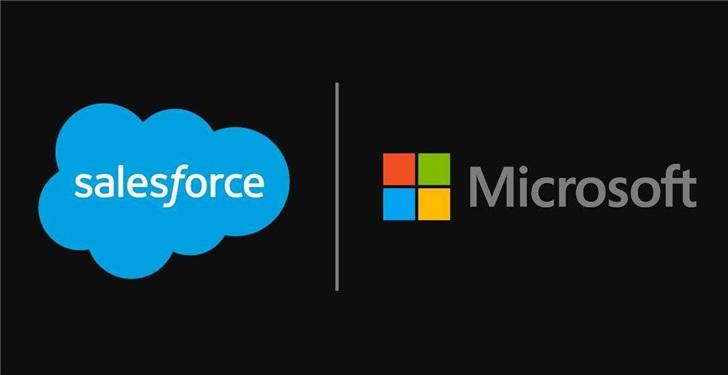 死对头再牵手:微软和Salesforce宣布合作}