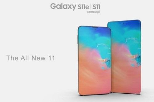 三星Galaxy S11最新渲染图曝光:瀑布屏+后置光谱仪}