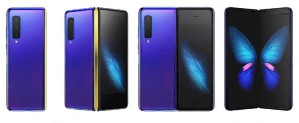疑似三星Galaxy Fold 2渲染图曝光:6.7英寸+256GB,紫色配色}