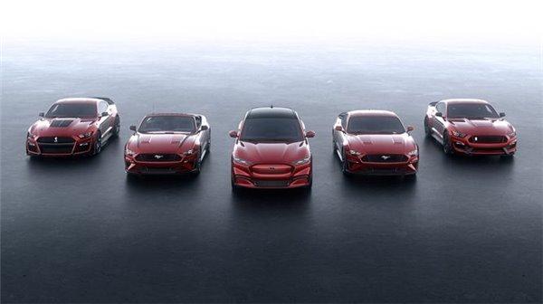 福特Mustang Mach-E正式发布 旗下首款纯电动SUV车型