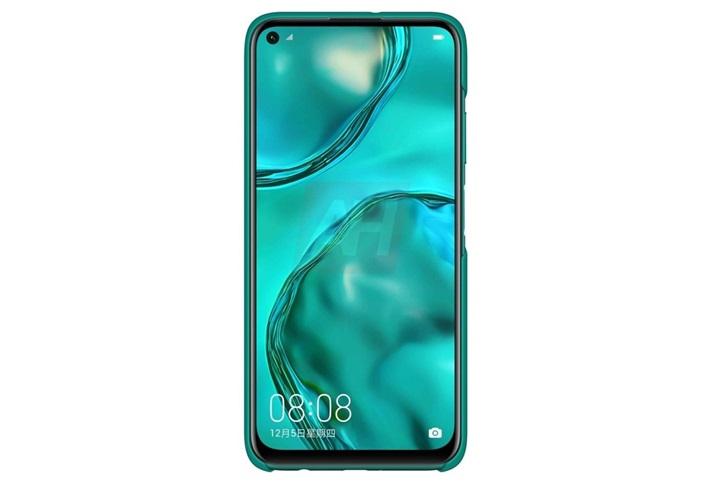 华为nova 6 SE带壳手机渲染图曝光