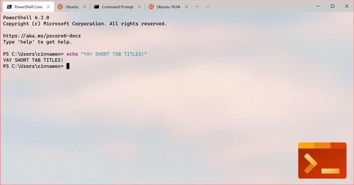 微软Windows Terminal v0.7发布:支持分屏+选项卡重排,UI优化-玩懂手机网 - 玩懂手机第一手的手机资讯网(www.wdshouji.com)