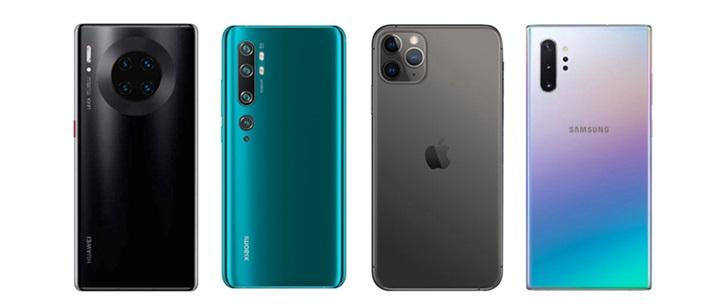 DxOMark评2019年最佳手机相机,华为、小米双雄并立