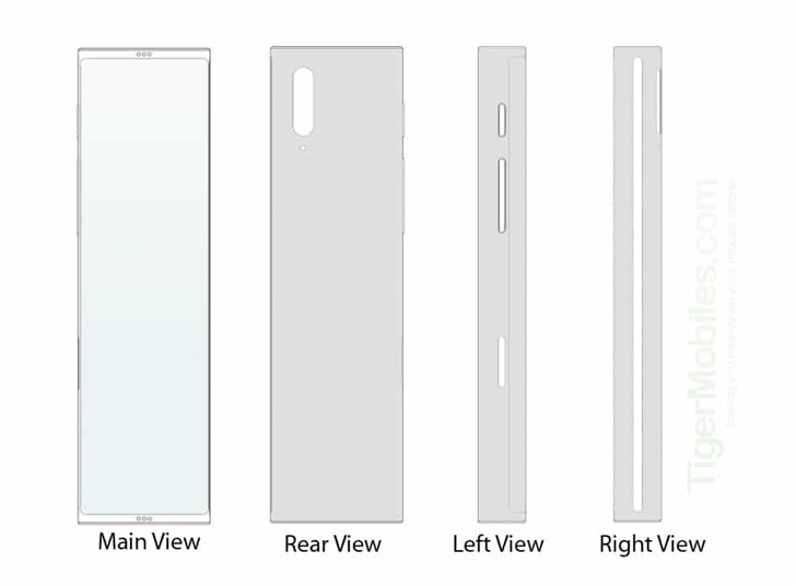LG手机新设计曝光:可伸缩屏幕,正常状态宽高比