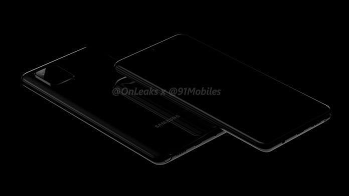 三星Galaxy Note 10 Lite手机渲染图曝光