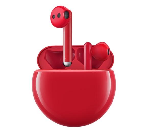 华为FreeBuds 3无线耳机推出红色版本,将于12月12日开售