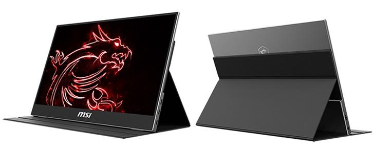 微星MSI Optix MAG161便携显示器发布,售价约合人民币1800元
