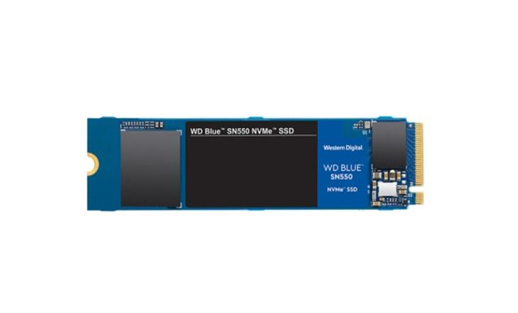 西数SN550蓝盘SSD开售,250GB售价299元起