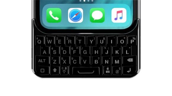 一公司推出苹果iPhone手机特殊保护壳:物理键盘
