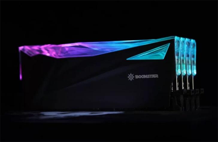 影驰推出星曜内存,具有8GB和16GB两个规格