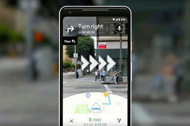 谷歌地图向少量用户推AR实景导航 全面推广还需等待