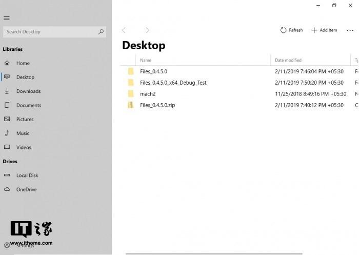 高中生独立开发Windows10UWP文件管理器:采用流畅设计