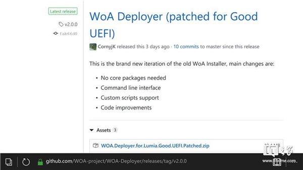 第三方开发者立功,Windows 10 ARM Deployer刷机部署工具发布